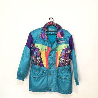 Retro ski jacket