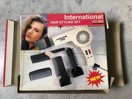 International Hair Styling Set HD-868