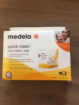 Medela Quick Clean Micro Steam Bag (Medela 微波爐消毒袋)
