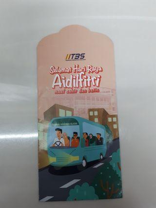 Angpao packet sampul duit raya Terminal Bersepadu TBS