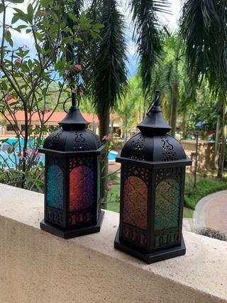 Morocco candle light