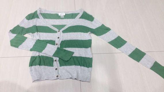 薄針織外套(F)