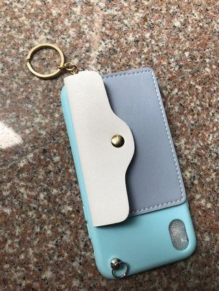 Brand new blue and white purse like iPhone XR case