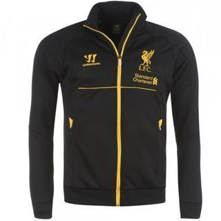 Liverpool LFC Warrior Presentation Walk Out Jacket Black Size S