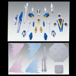 全新未砌 PB限定 MG 1/100 全武裝 及 光之翼 V2高達 擴張特效組件 機動戰士 魂商店 魂Shop