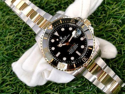 Rolex Sea Dweller 43mm Yellow Rolesor