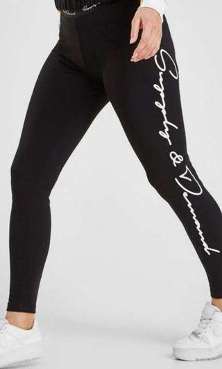 Supply & Demand Tape Script Legging