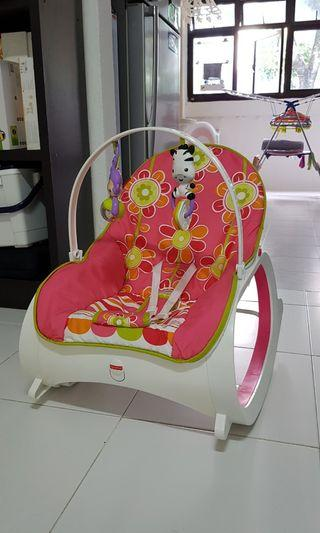 🚚 Preloved Fisher Price Rocker *As good as new*