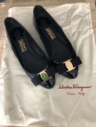 Salvatore Ferragamo Shoes black 返工 斯文鞋
