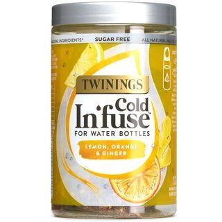 TWININGS Cold Infuse Tea- Lemon, Orange & Ginger - 12 Infusers