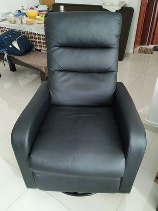 Move out sale - Recliner single seater sofa with swivel
