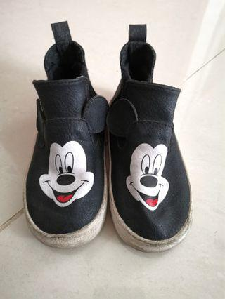 H&M Mickey Mouse Shoes