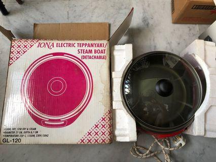 IONA Electric Teppanyaki / Steam Boat