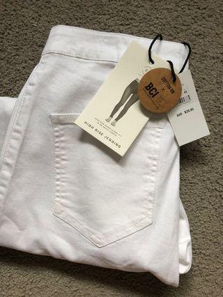Cotton On white jeans