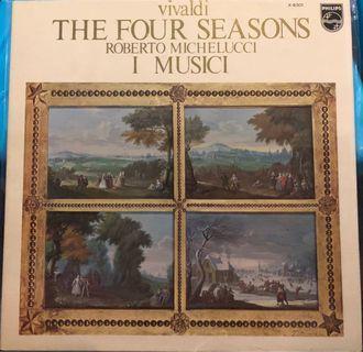 日版 四季 vialdi Four seasons Roberto Michelucci I MusicI 黑膠唱片 LP