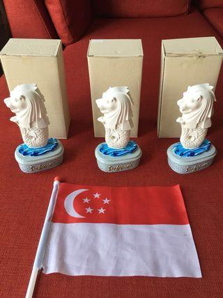 Souvenir Merlion: National Day Special Edition