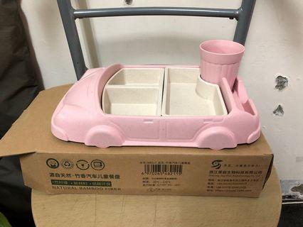 🚚 兒童 餐盤 餐車