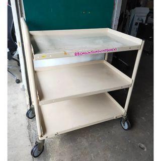 Kitchen Trolley / 3 tier Metal Trolley @$80 each
