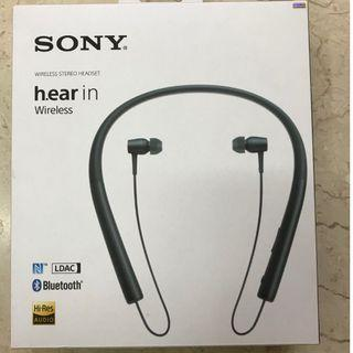 Sony h-ear in MDR-EX750BT; Wireless Stereo Headset
