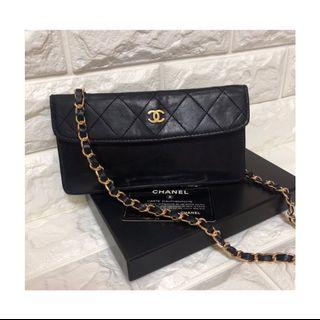 💯Real ❤️有咭有盒❤️Chanel vintage pouch