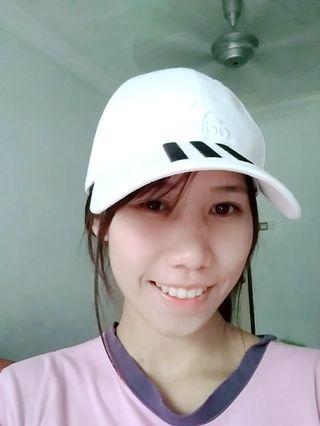 Authentic Adidas White Cap
