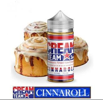 100% Original Cream Team USA 100ml for Vape E-Cig E-Juice Imported Premium