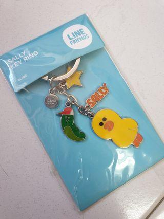 Line Friends Sally Key Ring
