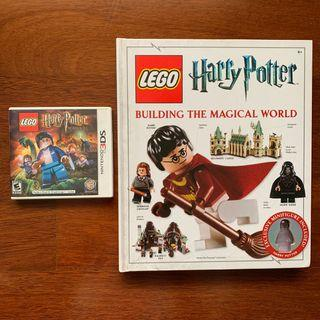 Lego Harry Potter 3DS & building the magical world book