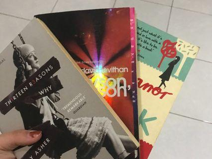 English Young Adult Books 50/book