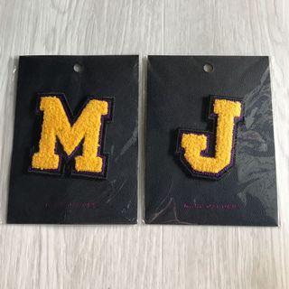 Marc Jacob's MJ Patch Iron On