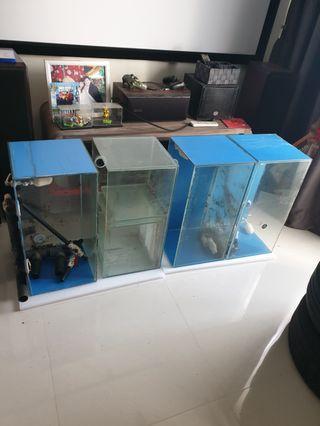 🚚 2x1x1 3tier pleco breeding setup decom super cheap sales