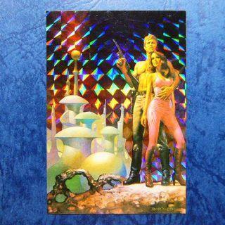 請自行出價 – 懷舊收藏 : 1991 BORIS VALLEJO 閃卡 #20 一張如圖, 祇限郵寄交收