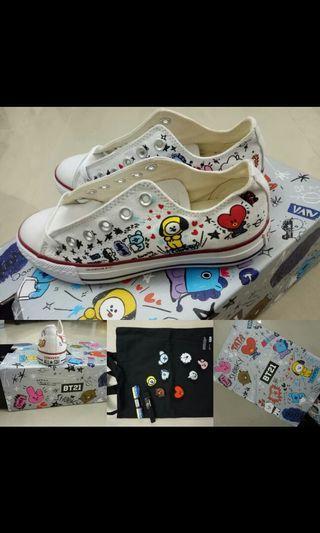Converse*BT21 sneakers
