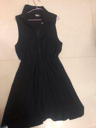 JOJO黑色洋裝