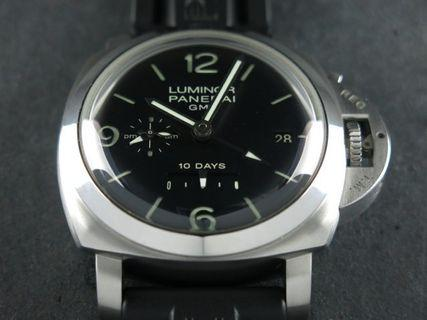 "Panerai Luminor 1950 10 Days Power Reserve GMT Automatic 44 mm ""L"" Series PAM 270"