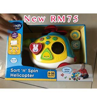 V TECH Sort n Spin Helicopter