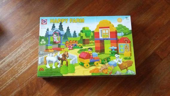 brand new little mini farm animals toy duplo