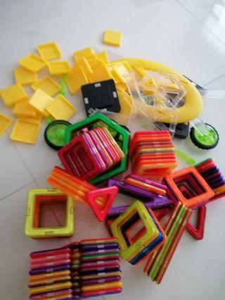 Large bundle of Magnetic toys