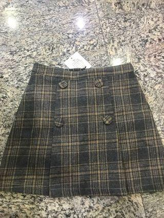 💕BNWT ALINE CHECKERED SKIRT💕