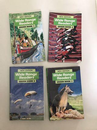 Wide Range Readers Green Book 3-6