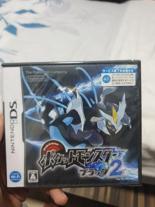 Pokemon black 2 Japanese Version ( bought from Japan)