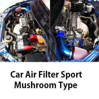 Car Air Filter Mushroom head Racing Sport Universal Vehicle 76mm