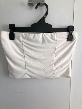 White boob tube
