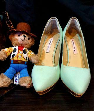 Carry Me  夢幻蘋果綠跟鞋