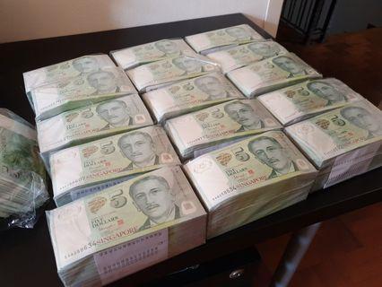 🚚 $2 $5 $10 UNC notes