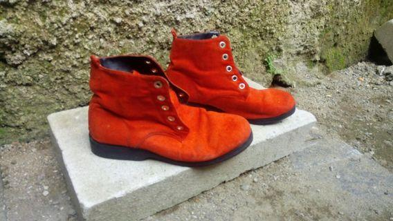 Red Boots size 36