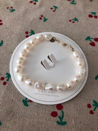 Pearl Korean women style bracelet