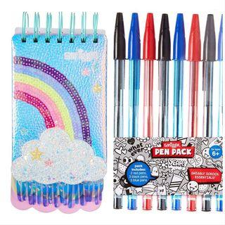 Twinkle Notepad Free Smiggle Pen Pack
