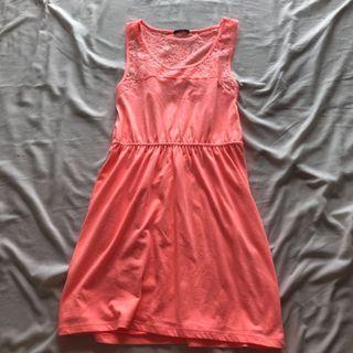 Bright Orange Summer Dress