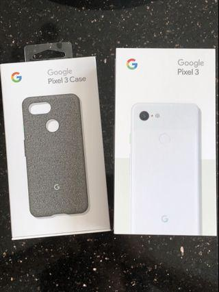 🚚 Google Pixel 3 64GB with case